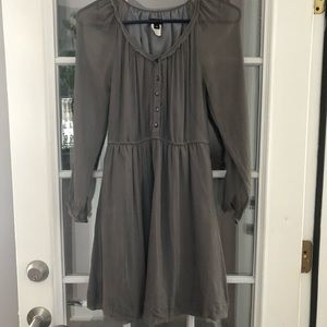 JCrew Crepe Taupe Dress, 00.